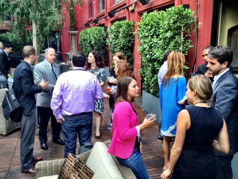Professionals gather at a recent Peer 100 event in LA. (Photo: Business Wire)