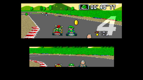 Super Mario Kart first launched on the Super NES in Japan on Aug. 27, 1992, and is releasing now on the Virtual Console in celebration of the game's upcoming 22nd anniversary. (Photo: Business Wire)