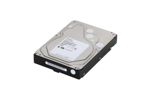 Toshiba: 5TB Surveillance Hard Disk Drive (Photo: Business Wire)