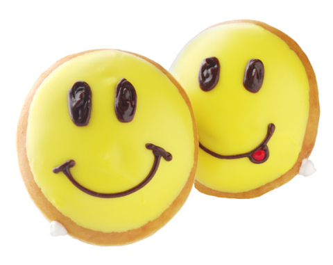 Celebrate National Smile Week with Krispy Kreme Fun Face Doughnuts. (Photo: Business Wire)
