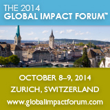 Global Impact Forum 2014 (Graphic: Business Wire)