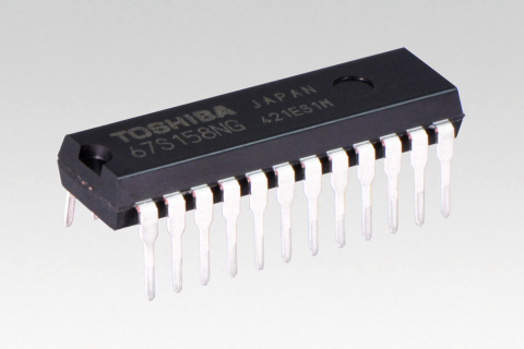 """Toshiba: dual unipolar stepping motor driver IC """"TB67S158NG"""" (Photo: Business Wire)"""