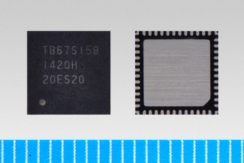 """Toshiba: dual unipolar stepping motor driver IC """"TB67S158FTG"""" (Photo: Business Wire)"""