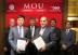 From the Left: Mr. Gregory Bird, Mr. Zhao Yan, Dr. Surin Pitsuwan, Captain Samuel Salloum, Tan Sri Abdul Rahman Mamat, Mr. Muhammad A. Agha (Photo: Business Wire)