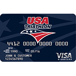 Commerce Bank Introduces the USA Triathlon Visa(R) Rewards Credit Card (Photo: Business Wire)