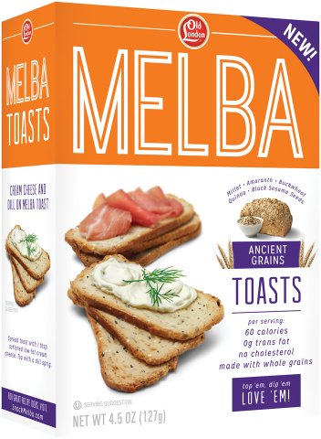 Old London Melba Toasts Ancient Grains (Photo: Business Wire)