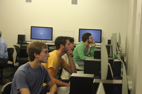 Students focused during a Junction hybrid lesson (Photo: Business Wire)
