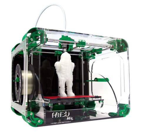 With an MSRP of $2,295.00, the new Airwolf 3D AW3D HDL is ideal for educators, professionals and resellers desiring a 3D printer that meets their needs without breaking their budgets. The HDL's modular design enables users to gradually add capabilities such as a jam-resistant hot end or dual hot-end that print engineering-grade filaments like polycarbonate and Bridge nylon. (Photo: Business Wire)