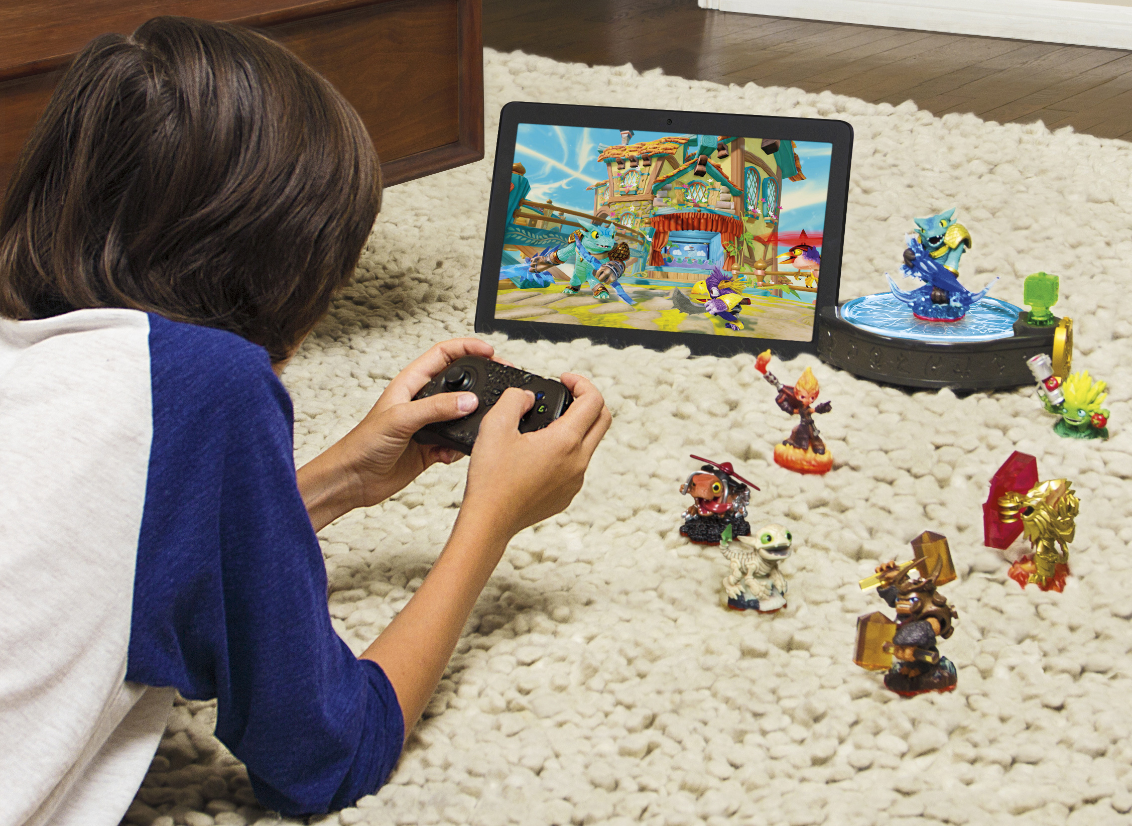 Skylanders Trap Team on tablet devices launches this October. (Photo: Business Wire)