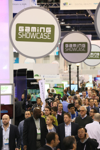 The Gaming Showcase at the 2014 International CES (Photo: Business Wire)