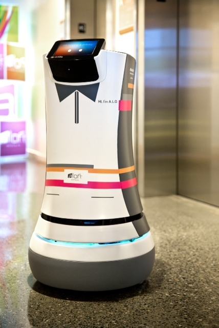 A.L.O. the Botlr at Aloft Cupertino (Photo: Business Wire)