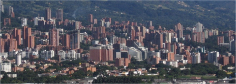 Medellin, Colombia's second largest city, is regenerating the municipality and the role IT played in driving economic growth and social inclusion. (Photo: Business Wire)
