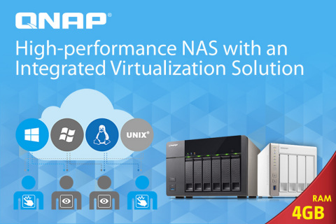 QNAP Virtualization Station (Graphic: Business Wire)