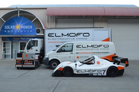ELMOFO - Importer and distributor of Brammo electric motorcycles for Australia (Photo: Business Wire)