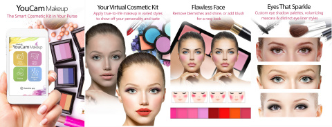 YouCam Makeup, your virtual makeup app that lets you apply realistic and fashionable makeup looks in seconds. (Graphic: Business Wire)