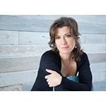 2014 Santa Train celebrity guest Amy Grant. Photo credit: Jim Wright