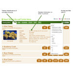 """Budventory"" Menu Interface (Graphic: Business Wire)"
