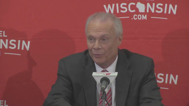 Wisconsin Tourism unveils newest star of next TV commercial - Bo Ryan