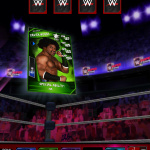 2K today announced the larger-than-life, action-packed entertainment of WWE has arrived on mobile devices with WWE(R) SuperCard, a brand new collectible card game. WWE SuperCard is available now for download on the App Store for iOS devices, including the iPhone(R), iPad(R) and iPod touch(R), as well as the Google Play Store and Amazon Appstore for Android(TM) devices. (Graphic: Business Wire)