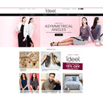 Online fashion flash sales website ideeli has become ideel.com, changing its branding, logo and URL. (Graphic: Business Wire)