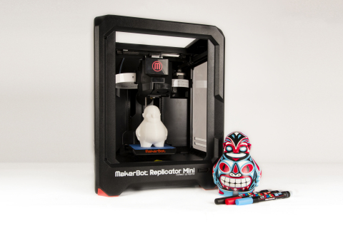 "The MakerBot(R) Digital Store launches ""Zee Blank,"" a 3D print that unleashes creativity and can be  ..."