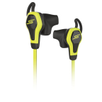 SMS Audio BioSport In-Ear Headphones powered by Intel - Yellow (Photo: Business Wire)