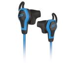 SMS Audio BioSport In-Ear Headphones powered by Intel - Blue (Photo: Business Wire)