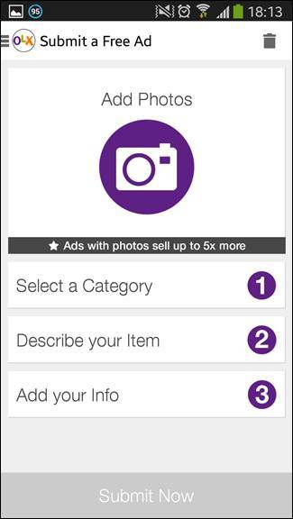 Updated OLX Android App