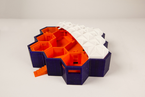MakerBot and NASA/Jet Propulsion Lab held a Thingiverse Mars Base Challenge. Out of hundreds of entr ...