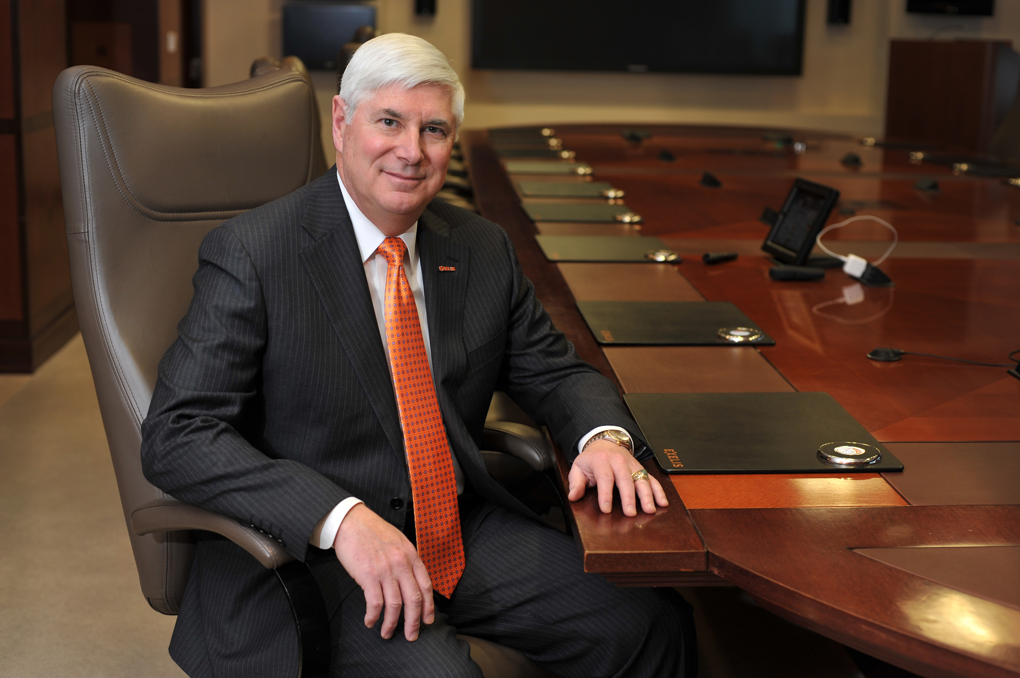 David F. Melcher, CEO and President, Exelis Inc. (Photo: Business Wire)