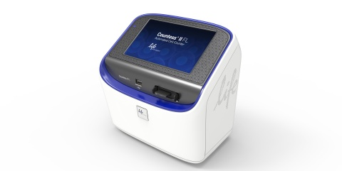 The Countess II FL Automated Cell Counter is a next-generation, bench-top assay instrument designed with a modular design to broaden the number of applications on a single platform. (Photo: Business Wire)