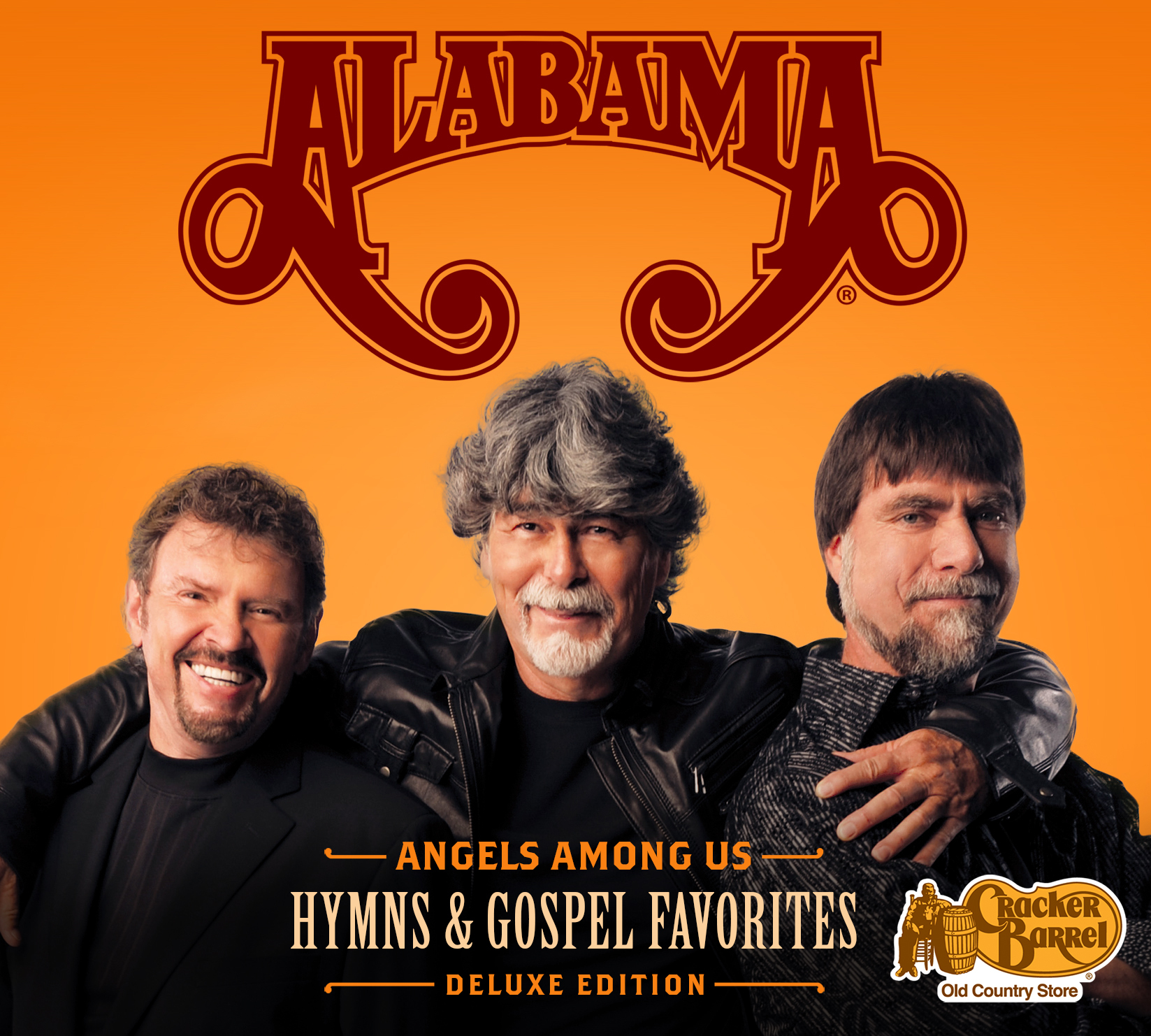 Alabama - Angels Among Us: Hymns & Gospel Favorites: Deluxe CD, Available Sept. 8  (Photo: Business Wire)