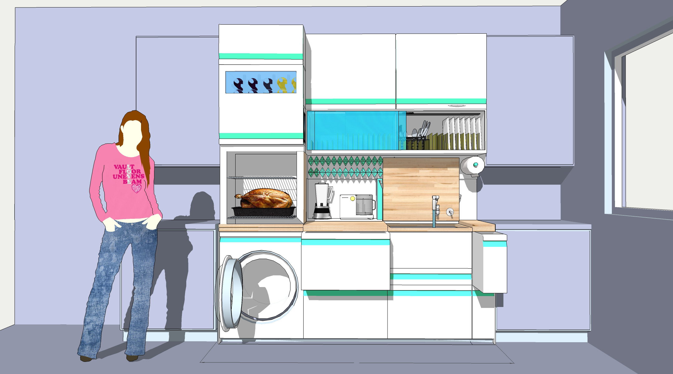 Creating A Functional Micro Kitchen: GEu0027s FirstBuild™ Debuts Community  Challenge Winners | Business Wire