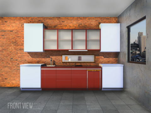 Issac Benjamin Robledo Cazares was one of the five winners selected for the FirstBuild Micro-Kitchen Challenge; each design will contribute to the final design that will be manufactured at FirstBuild's microfactory in Louisville, Ky. (Graphic: GE)