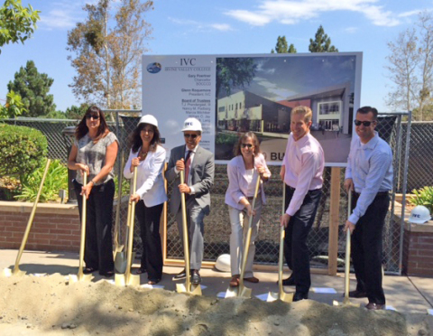 Irvine Valley College A400 Building Breaks Ground (Photo: Business Wire)
