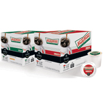 Krispy Kreme Coffee in Smooth and Decaf blends are now available in K-Cup (R) packs at participating grocers, Krispy Kreme locations, and online at www.Keurig.com. (Photo: Business Wire)