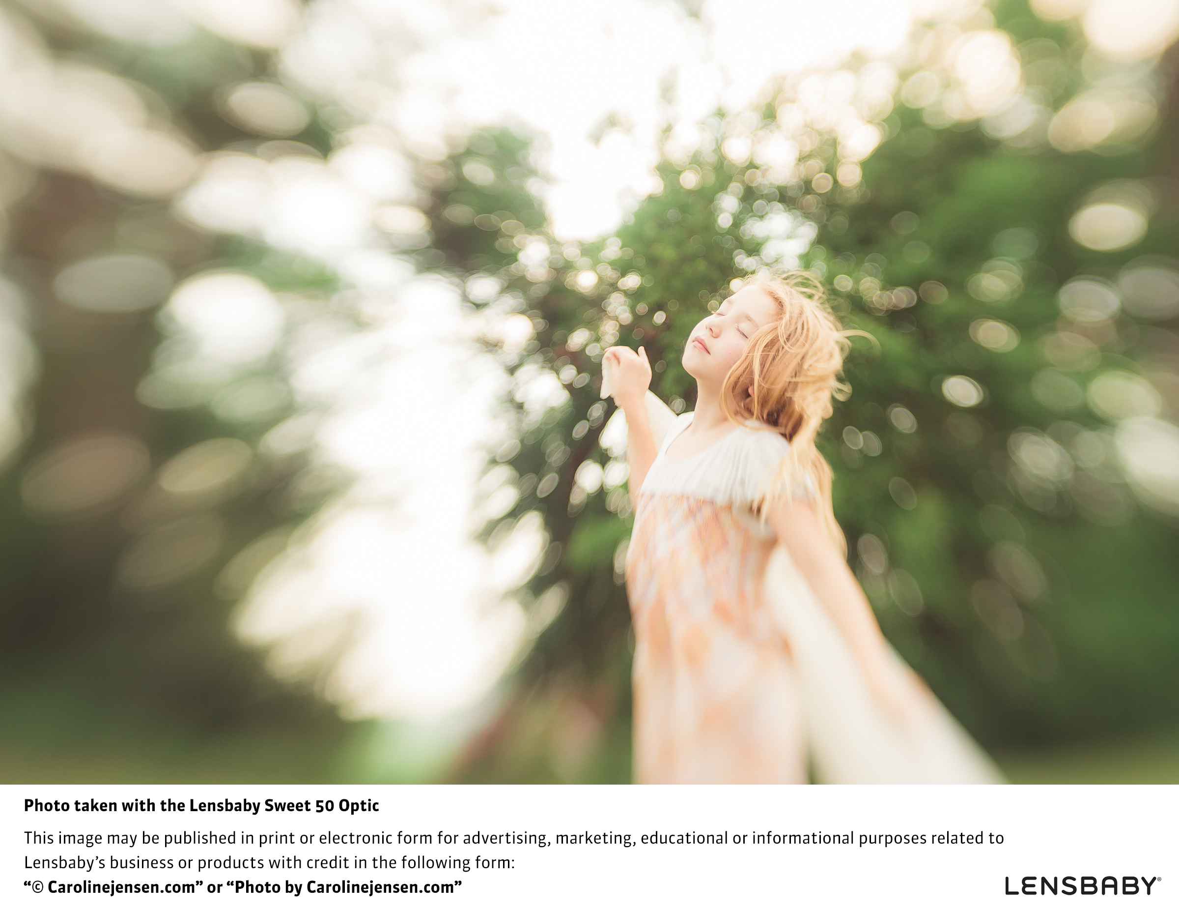 """Lensbaby's signature """"sweet spot"""" depth-of-field look. Shot with Sweet 50 Optic. Similar results can be had with the LM-10, the new mobile Sweet Spot lens. (Photo: Carolinejensen.com)"""
