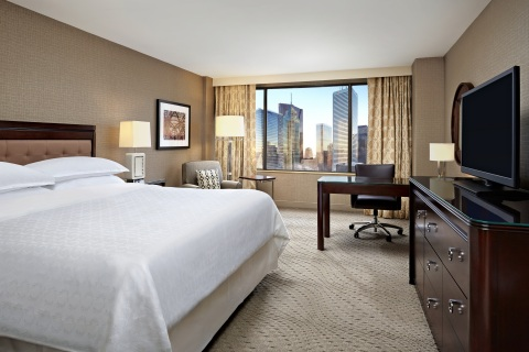 The Sheraton Centre Toronto Hotel today announced a $90 million renovation of all 1,371 guest rooms and suites to debut in 2015. (Photo: Business Wire)