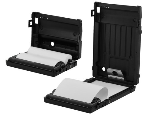New all-in-one Brother PocketJet® printer cases hold virtually everything mobile workers need to print full-page documents – inside or outside of the vehicle. (Photo: Business Wire)