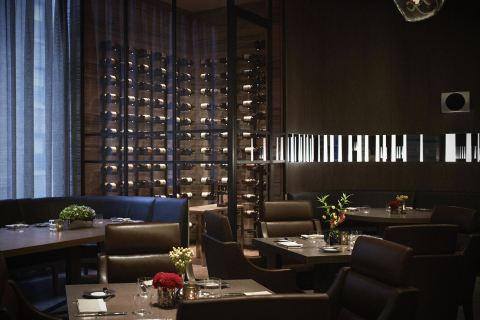 The Back Room at One57 is led by Executive Chef Sebastien Archambault and offers simple, yet elegant preparations of top-quality meats, seafood, and vegetables. (Photo: Business Wire)