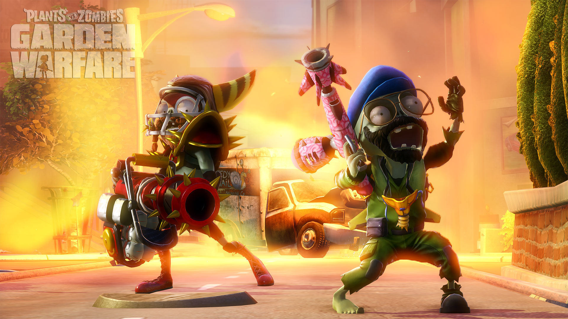 developer vs op gameplay garden warfare watch with zombies commentary player co game plants