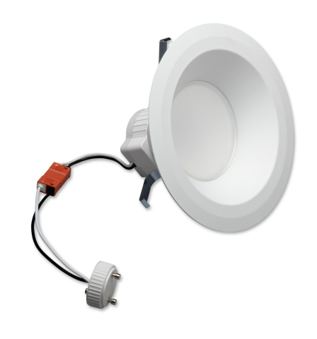 GE Lighting's Lumination™ LED DownLight can offer easy-to-install retrofit solutions for your office, hospitality or retail space. (Photo: General Electric)