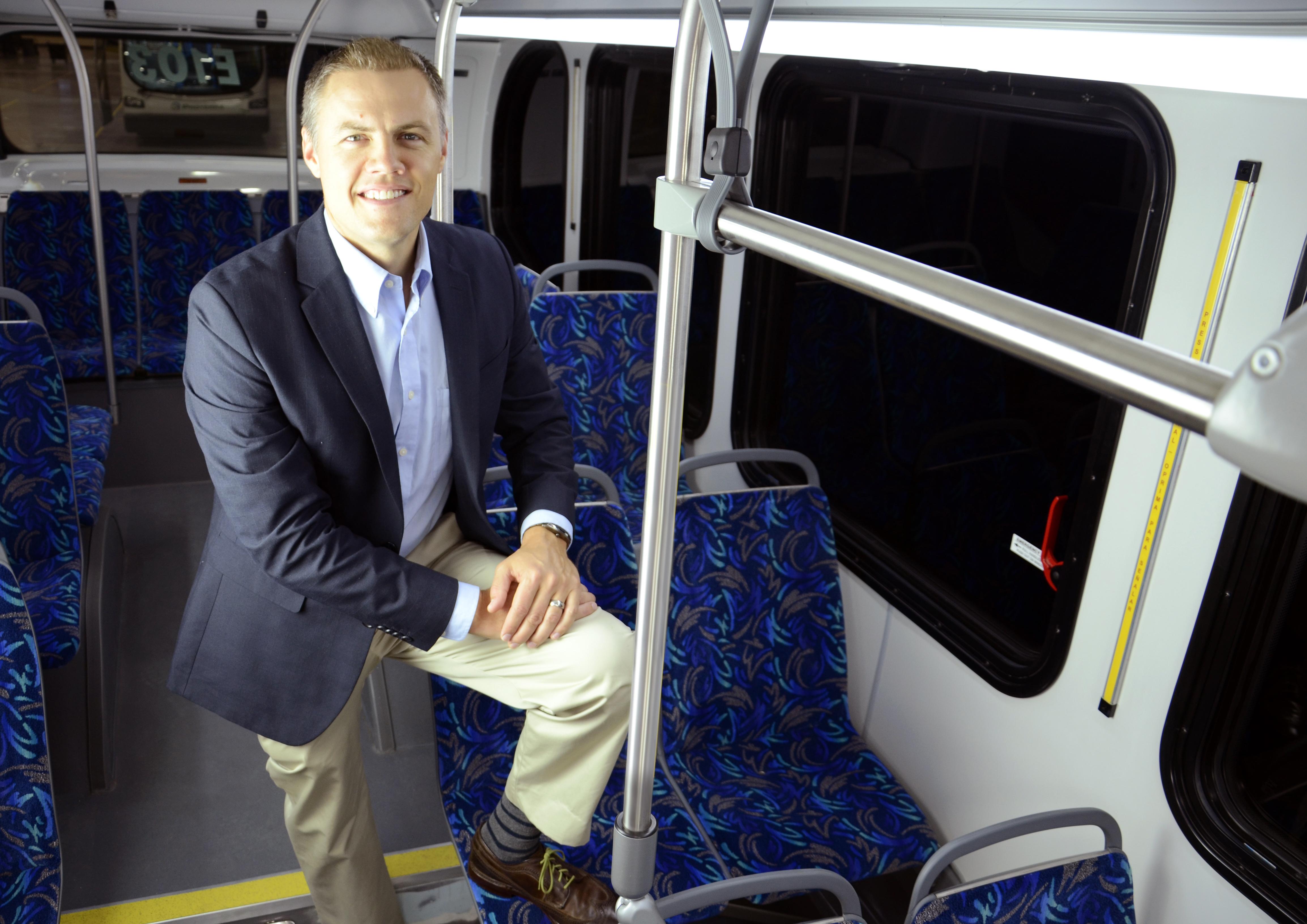 California clean energy executive Matt Horton joins EV bus company Proterra as VP of sales (Photo: Business Wire)
