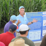 Kansas State University research irrigation engineer, Freddie Lamm, seen here during a recent educational fiel
