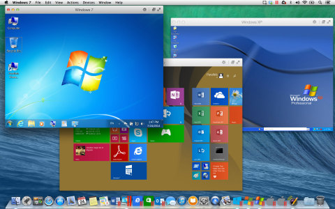 Parallels Desktop 10 for Mac lets you run Windows XP, Windows 7, Windows 8 and more on a Mac. A free ...