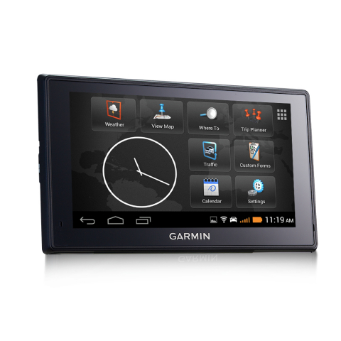 The fleet 660 and 670 are two new fleet navigators that combine the simplicity of Garmin navigation with the unique customization options of Android. (Photo: Business Wire)