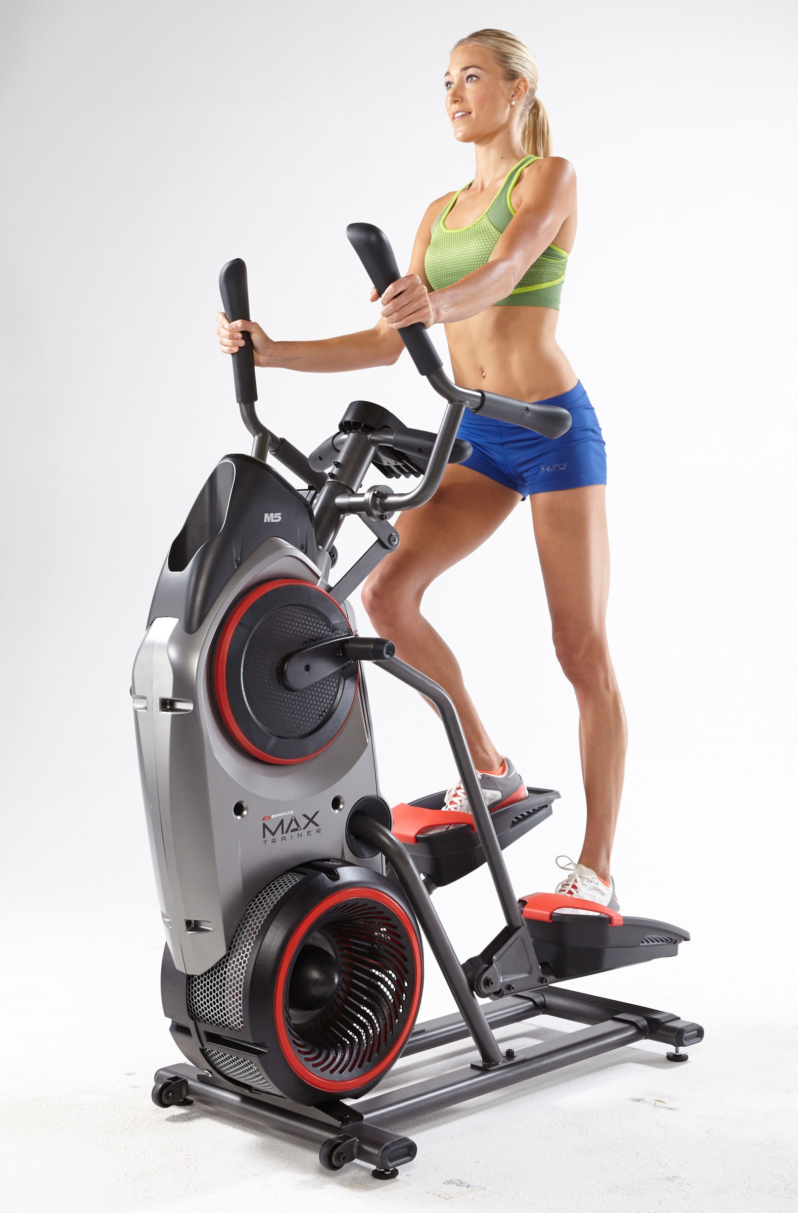 The Bowflex MAX Trainer™ combines the motions of an elliptical and stair stepper to help users burn up to 2.5 times the calories. (Photo: Business Wire)