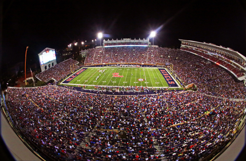 C Spire and the Ole Miss Athletic Department have installed a new state-of-the-art Wi-Fi network in  ...