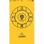 ZENRIN DataCom releases CycleTT - A free iPhone app to enhance life in the saddle (Graphic: Business Wire)