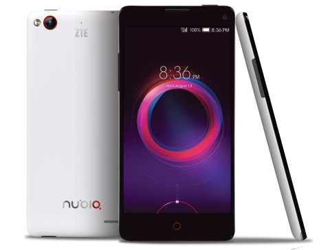 ZTE launches unlocked Android smartphone, nubia 5S mini LTE, in the U.S. with its best smartphone camera platform and Qualcomm Quad Core processor. (Photo: Business Wire)